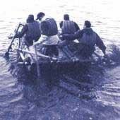 Outdoor Training: Selbstgebautes Floß