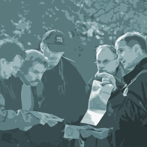 Im Outdoor Kunden-Incentive gemeinsam den Weg festlegen