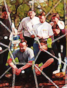 Outdoor Training Modul: Spinnennetz