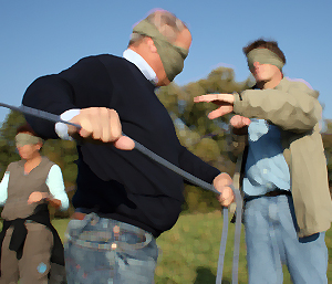 Outdoor Soft Skills Training: Problemlösekompetenz