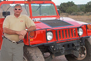 Outdoor Training Mitarbeiter Incentive Hummer fahren