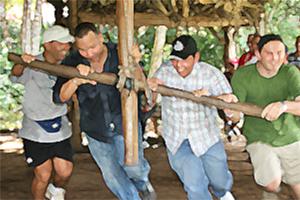 Mitarbeiter Incentive Outdoor Training