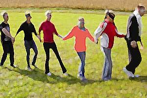 Outdoor Training Modul Trust Walk
