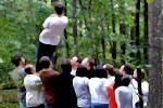 Outdoor Training Modul Vertrauensfall