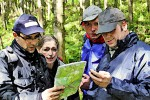 Team-Event Geocaching